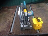 Makita steel chop saw and transformer 2016