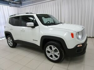 2018 Jeep Renegade A NEW ADVENTURE IS CALLING!! LIMITED 4x4 SUV