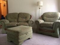 FREE 3 Piece Suite (2 chairs & sofa)