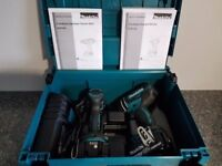 =BRAND NEW= MAKITA 18V LI-ION 2 PIECE KIT DHP482 COMBI + DTD152 IMPACT DRIVER INC 2X 3AH BATTS,