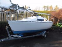 Sailing yacht - Parker 21 Trailer Sailer boat