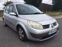 2005 54 RENAULT SCENIC 1.6 DYNAMIQUE 5 DR MPV BARGAIN PRICE NO OFFERS