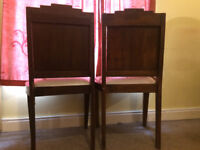 Dining chairs ready for restoration!