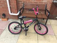 Girls Wicked BMX bike 18""
