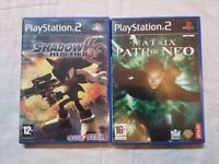 2 X SONY PS2 GAMES