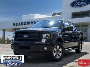 2014 Ford F-150 FX4, TRAILER TOW, SIDE STEPS, CENTER CONSOLE