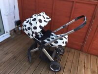 Oyster 1 Pram including two colour packs, used