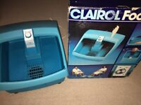Clairol Massaging Foot Spa in Original Box and instructions