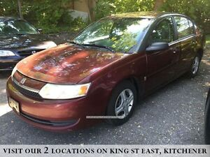 2003 Saturn Ion Base | YOU CERTIFY, YOU SAVE