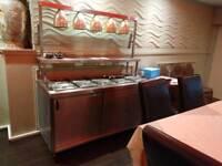 Hot Buffet Trolley