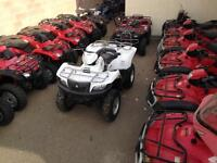 40 Pre-owned ATVs - SXSs