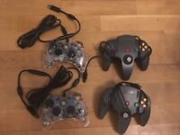 Controllers for Xbox 360 & Nintendo 64, USB compatible with PC/Mac