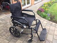 Soma folding wheelchair