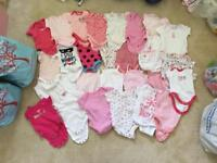 Short sleeved baby grows