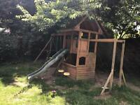 Swing Set & Cubby House
