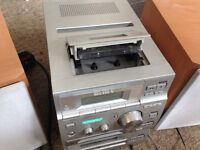 Sony hifi (CMT-CP500MD) with tape, mini disk, cd and radio