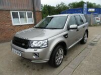 FREELANDER 2 DIESEL SW 2.2 Td4 HSE 5dr Auto UPGRADED FACE TO 2013 DRIVES PERFET MOT