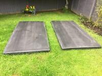 Mma Mats 2m x 1 m x 38mm thick £100 for 6 free post