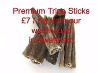 yummy tripe stick natural treats fro dogs £7 1kg swaffham norfolk