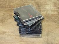 Bundle of 10 used Minidiscs (Save around £25 on NEW)