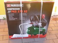 PARKSIDE PKO 270 A2 Compressor NEW IN BOX