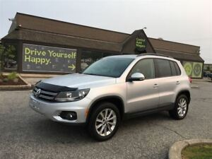 2013 Volkswagen Tiguan COMFORTLINE / PANORAMIC SUNROOF / LEATHER