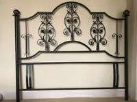 Wrought Iron Bed Headboard