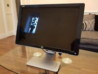 Beautiful and Sleek HP Vivid Colour 24-inch Full HD 1080p (1920x1200) Widescreen LCD Monitor, used for sale  Manchester