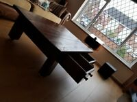 Rustic coffe table