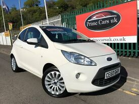 2010 (60 reg) Ford KA 1.2 Zetec 3dr Petrol 5 Speed Manual Alloys/AirCon/2 Keys