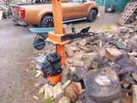 NEW PETROL LOG SPLITTER WITH BRIGGS AND STRATTON ENGINE