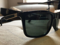 Ray Ban RB4228 sunglasses black/gold, includes case