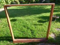 Mahogany Window Frames