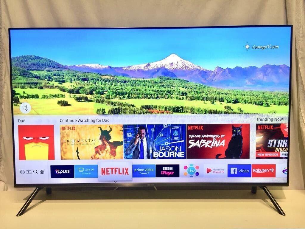 "4K Smart Samsung 40"" Ultra Hd WiFi Led tv Freeview HD Youtube Netflix | in  Wimbledon, London | Gumtree"