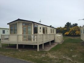 Static Holiday Home, affordable way to get on park.
