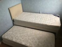 Single bed with guestbed