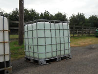 CONTAINERS PLASTIC (IBC) 1000 LITRE