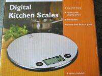 Digital Kitchen Scales ( brand new and boxed )