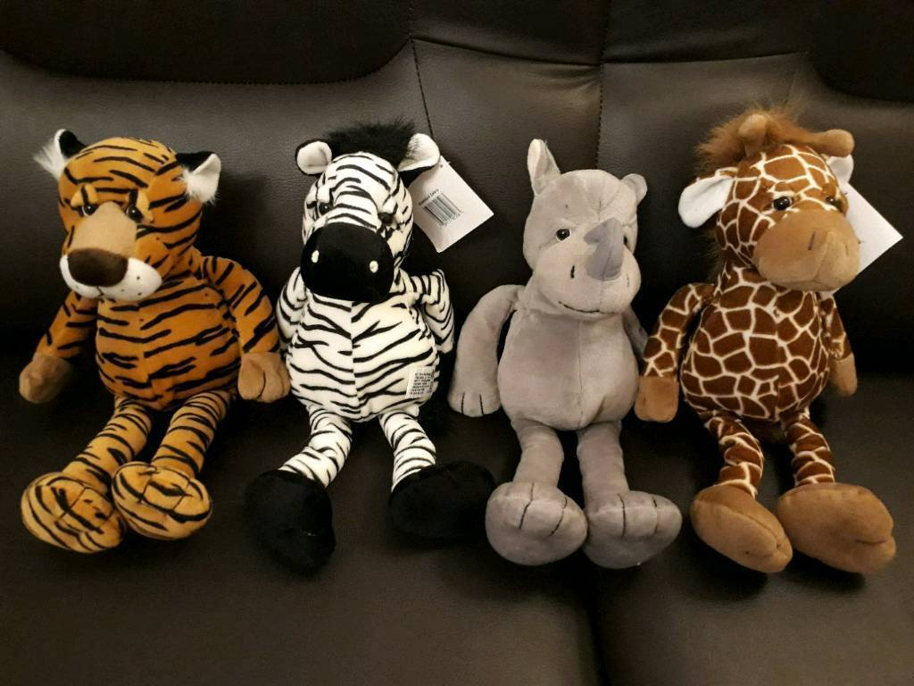 Selection Or Russ Zoo Animals Soft Toys | in Neath, Neath Port Talbot |  Gumtree