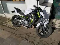 Kawasaki z650 17plate