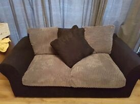 For Sale 3 Seater Fabric Sofa