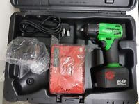 """Snap On 3/8"""" Impact Gun 14.4v(Extreme Green) Includes Original Case, 2 Batteries + Charger"""