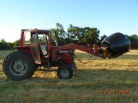 massey ferguson 575 loader tractor