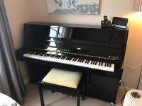 Piano Upright Ebony Yamaha