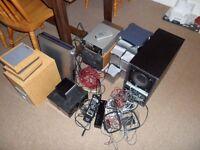Speakers job lot - Sony, Pioneer speakers 4 sets