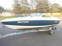 1992 - 16' Stingray Bowrider with Canopy and Fish Finder