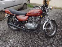 Historic KZ750, excellent condition, new mot