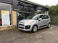 2015/64 CITROEN C3 PICASSO VTR PLUS 1.6HDI SILVER 5DOOR ONE OWNER