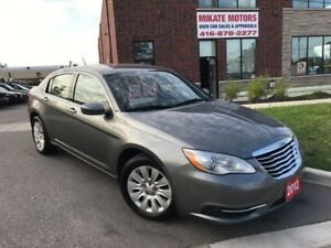 Immaculate 2012 Chrysler 200 LX, 98,000 KM, Sold Fully Certified