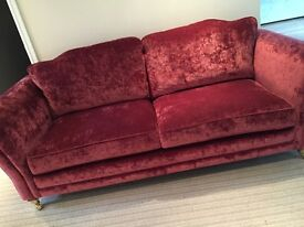 2 and 3 seater stokers immaculate sofas